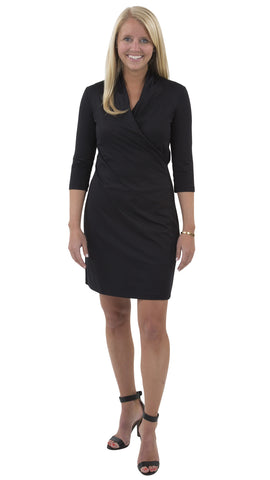 Kimberly Dress - Solid Black FINAL SALE