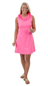 Cricket Dress Sleeveless - Solid Neon Pink