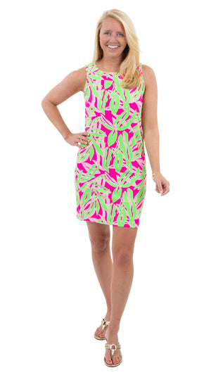 Yacht Club Shift - Tropical Breeze Pink/Green