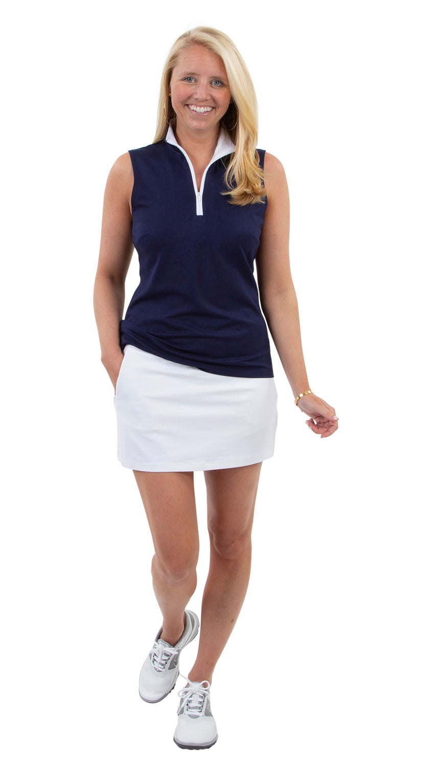 Tennis Skort - Solid White
