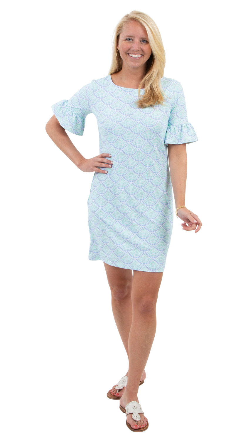 Dockside Dress - Seaglass - BACK ORDERED 'TIL 4/15