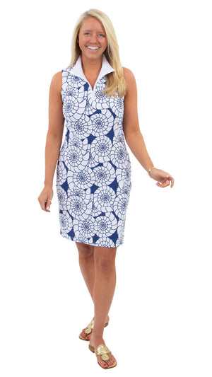 Britt Sleeveless Dress - Nautilus