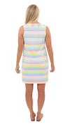 Yacht Club Shift - Tutti Fruity Summer Stripe