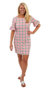 Dockside Dress - Pink/Green Spring Plaid - FINAL SALE