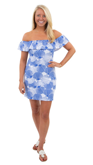 Shoreline Dress - Scattered Scallops