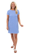 Marina Dress - Blue/White Rope Stripe
