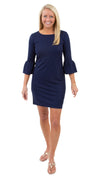Haley Dress - Solid Navy