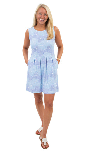 Boardwalk Dress - Blue Braided Rope -