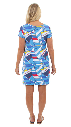 Marina Dress - Billowing Sails