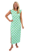 Jojo Maxi Dress - Palm Trees