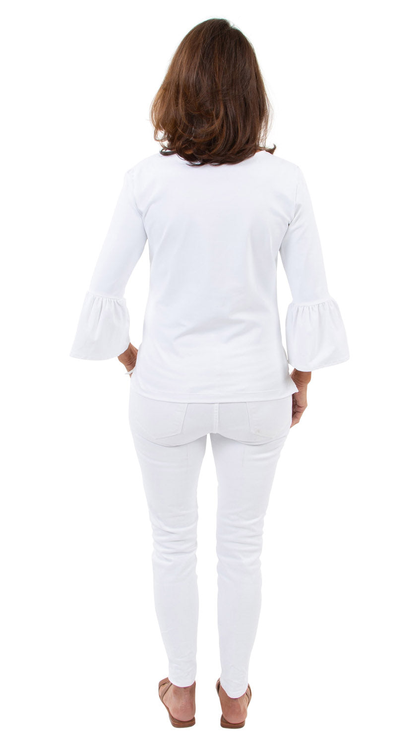 Haley Top - Solid White