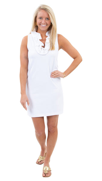 Skipper Dress - Solid White