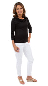 Cricket Top - Solid Black