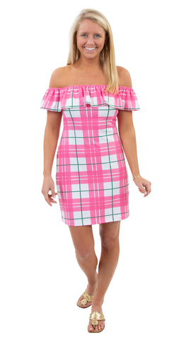 Shoreline Dress - Preppy Plaid SAMPLE - FINAL SALE