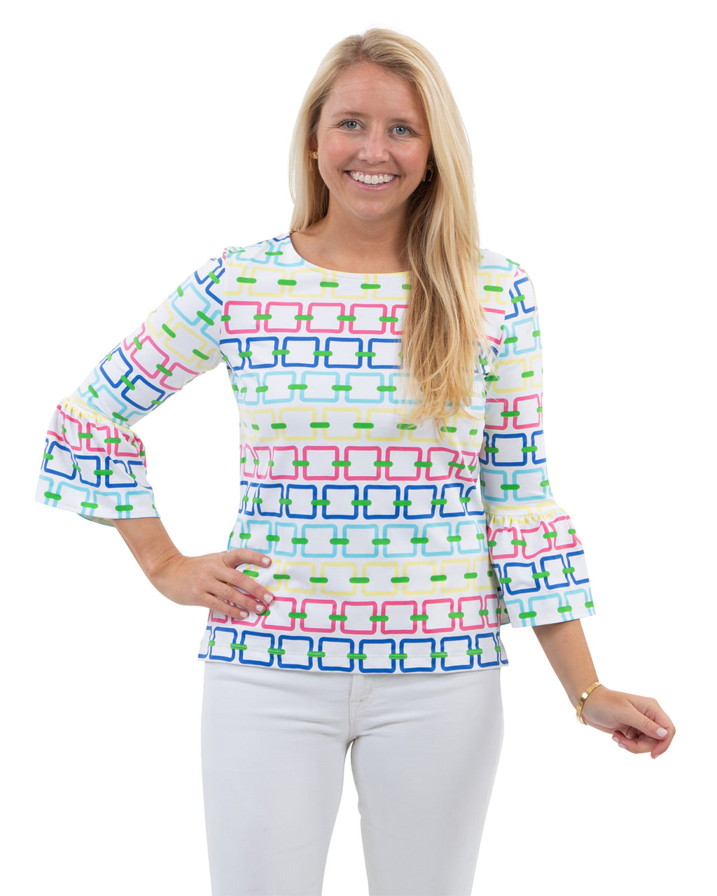 Haley Top - Rainbow Link