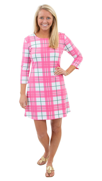 Grace Dress - Preppy Plaid