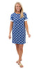 Coco Dress - Knotted Rope Ball Navy/White - FINAL SALE