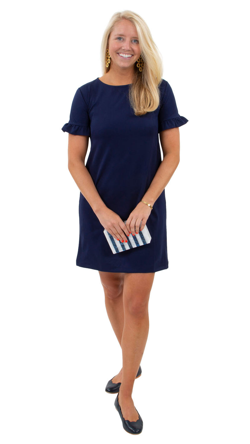 Coco Dress- Solid Navy