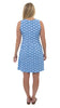 Boardwalk Dress - Navy/Azure Baked Scallops