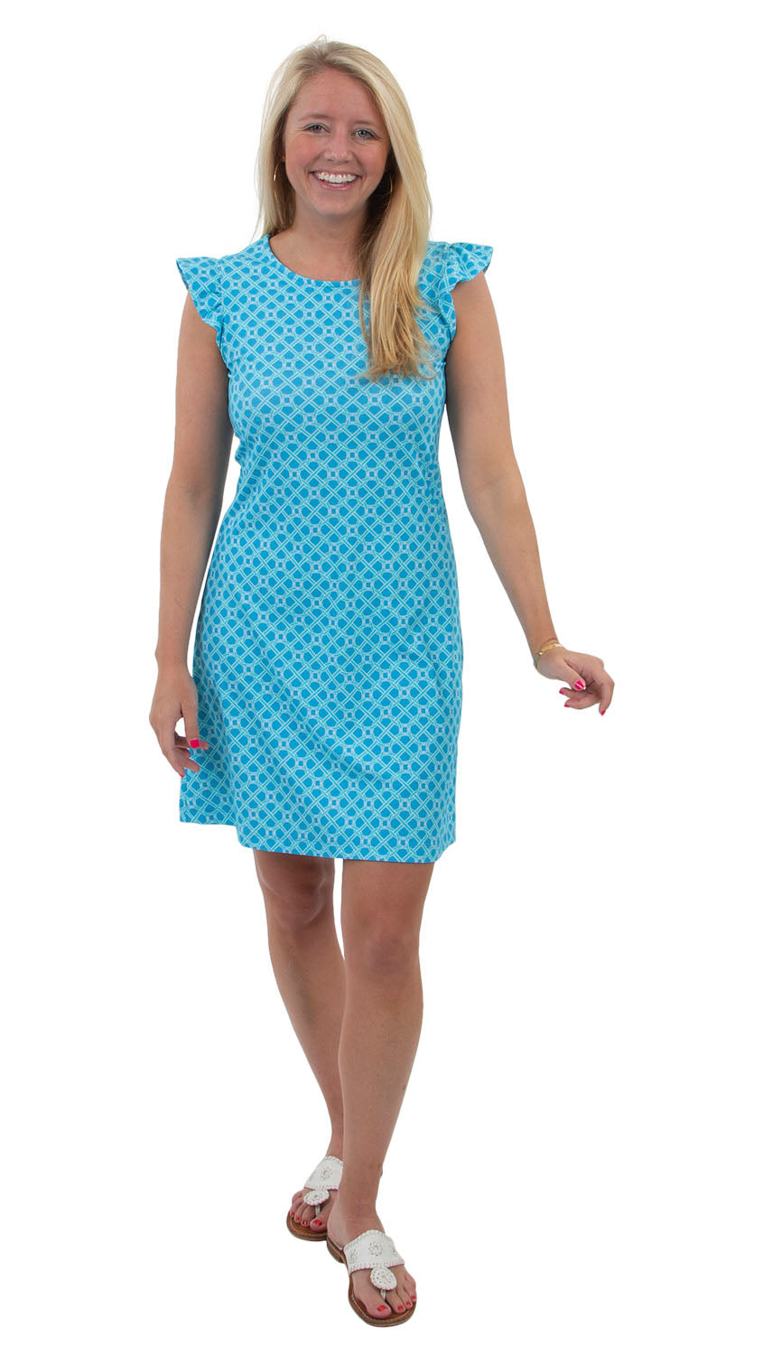 Jojo Dress - Blue Bamboozled