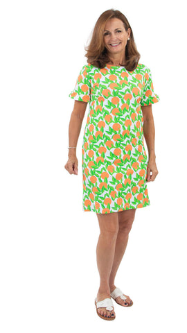 Coco Dress - Orange Grove