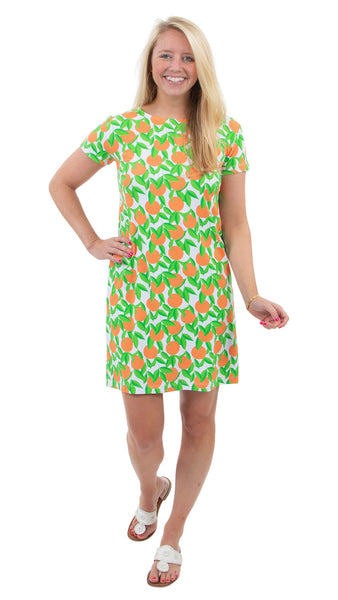 Marina Dress - Orange Grove
