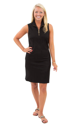 Britt Dress - Solid Black