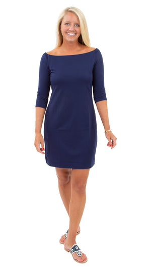 Islander Dress - Solid Navy