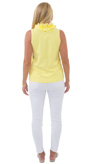 Skipper Top - Yellow - FINAL SALE