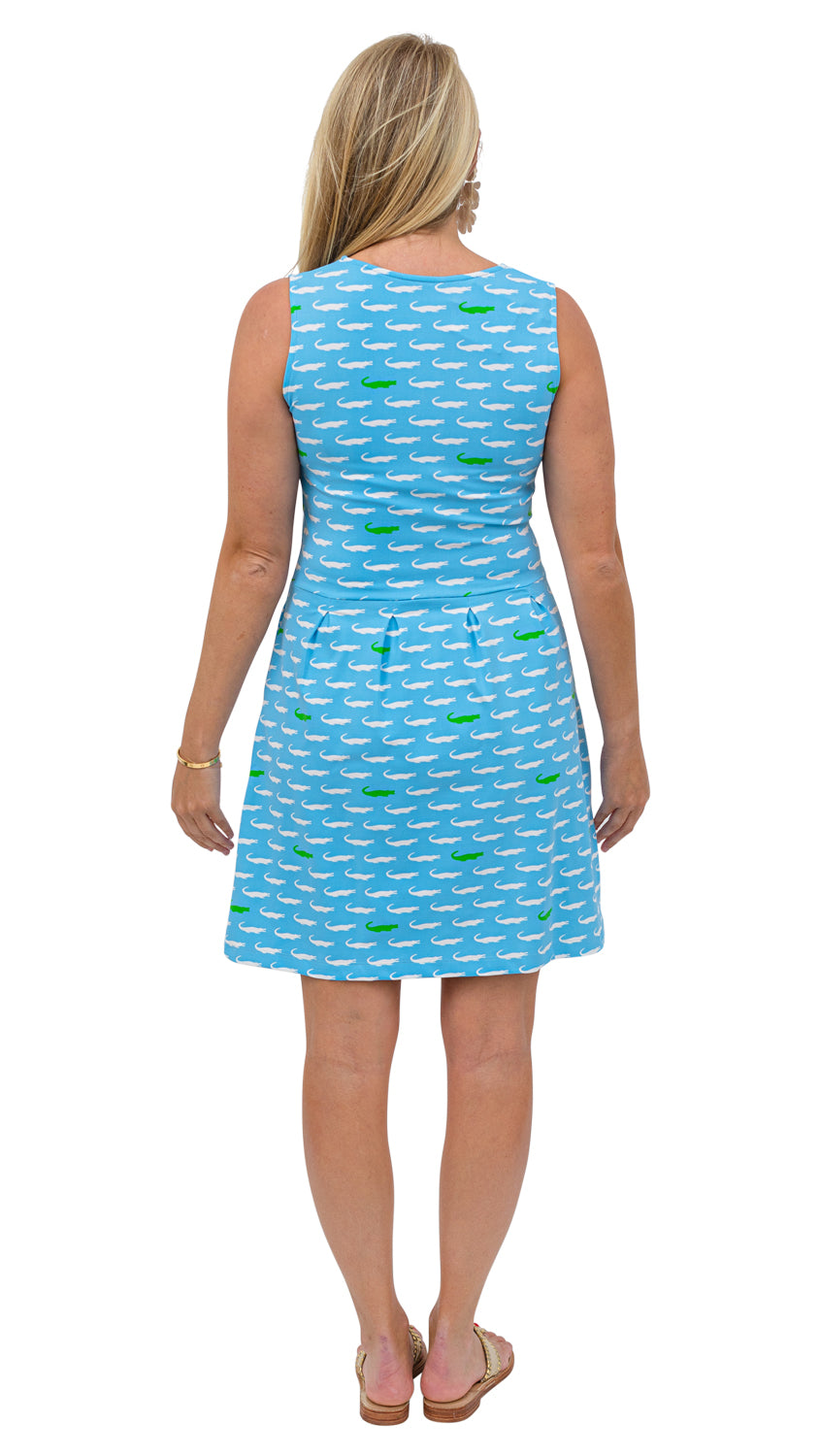 Boardwalk Dress - Alligators