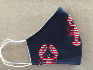 Face Mask - Lobsters - FINAL SALE