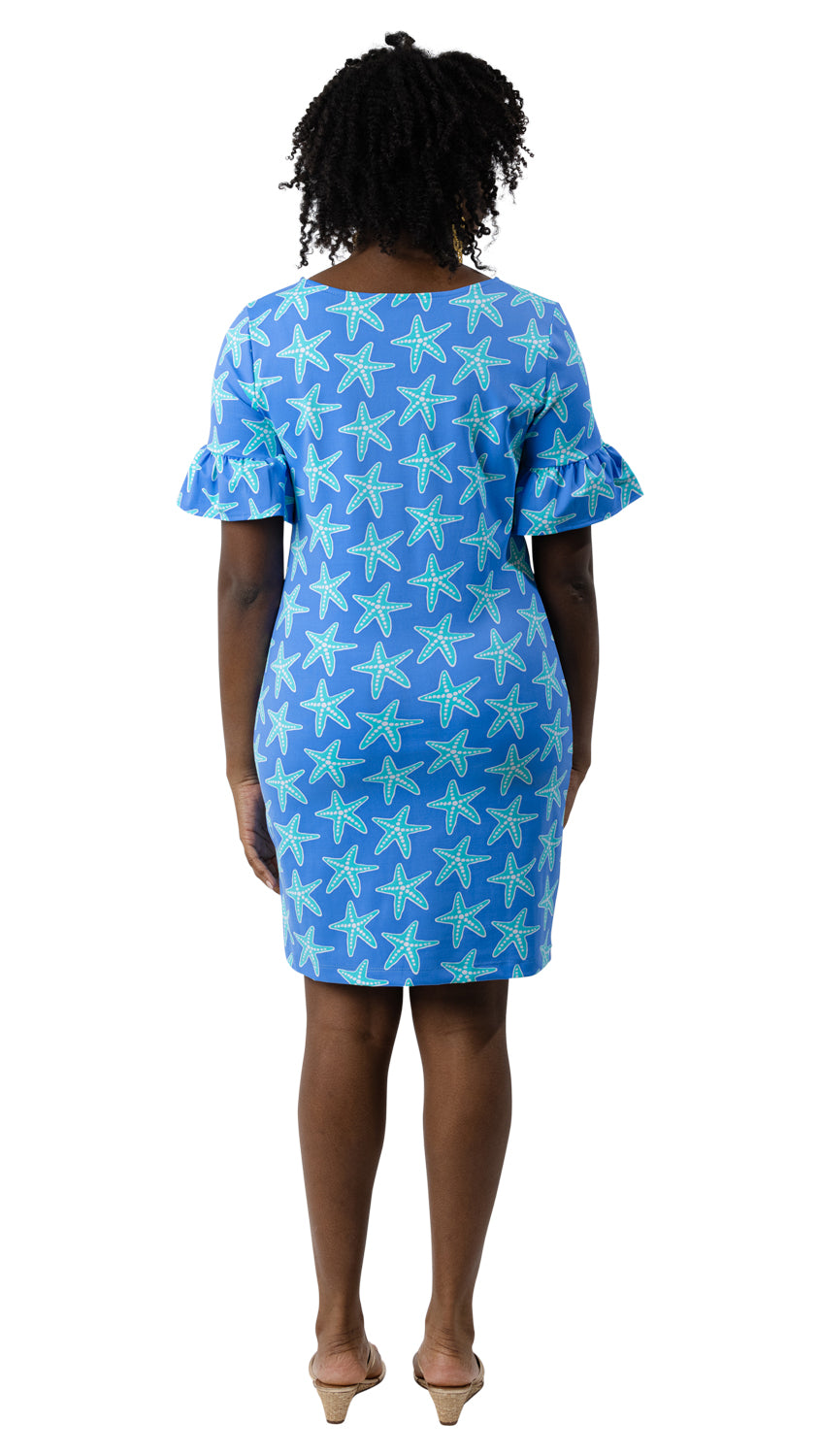 Dockside Dress - Blue Sea Star