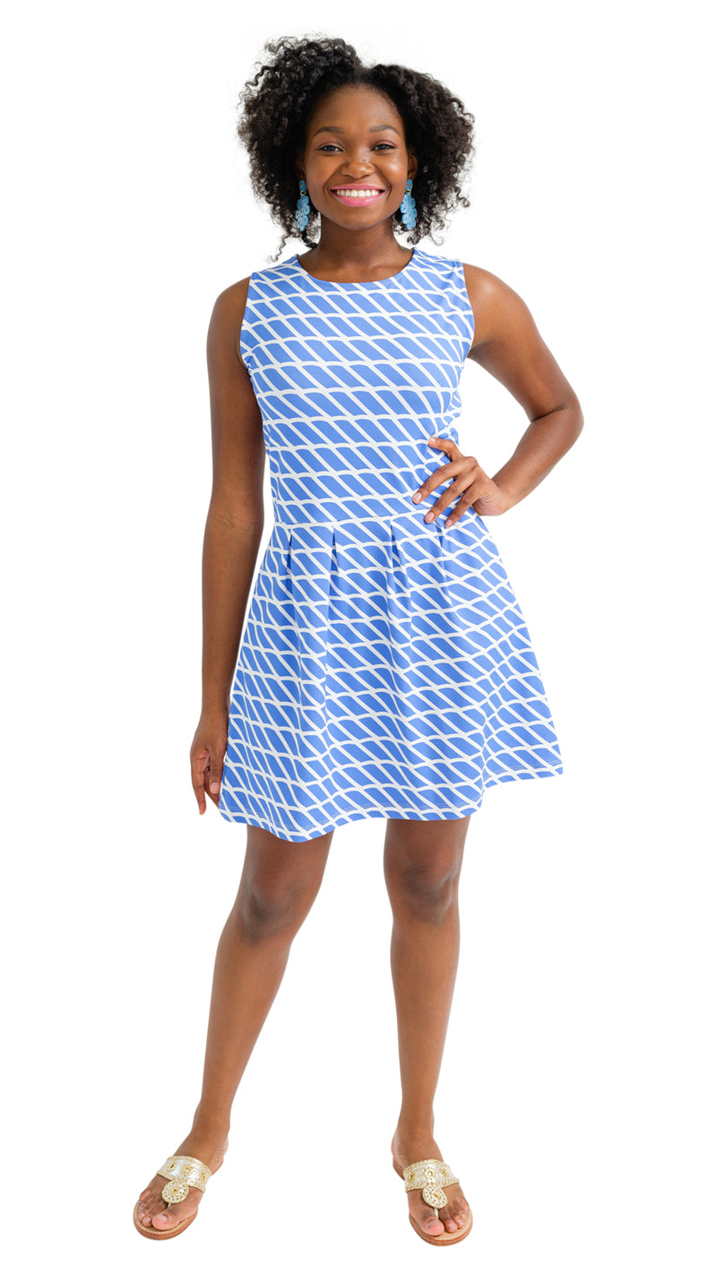 Boardwalk Dress - Rope Stripe