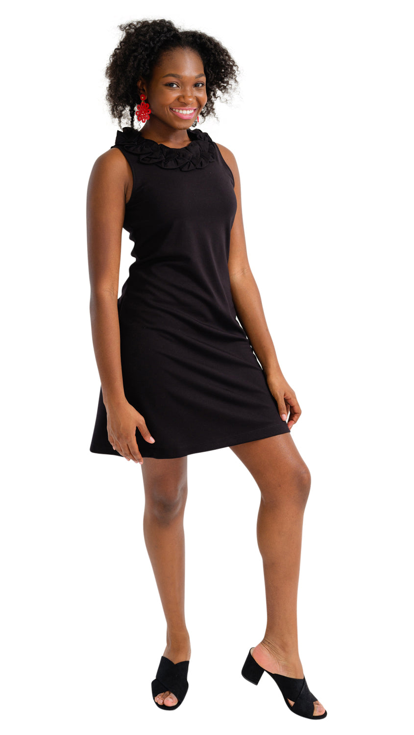 Cricket Dress - Solid Black