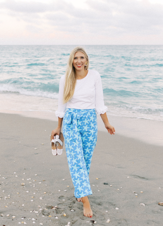 Dorothy Pants - Sea Star Blue
