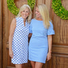 Dockside Dress - Blue/White