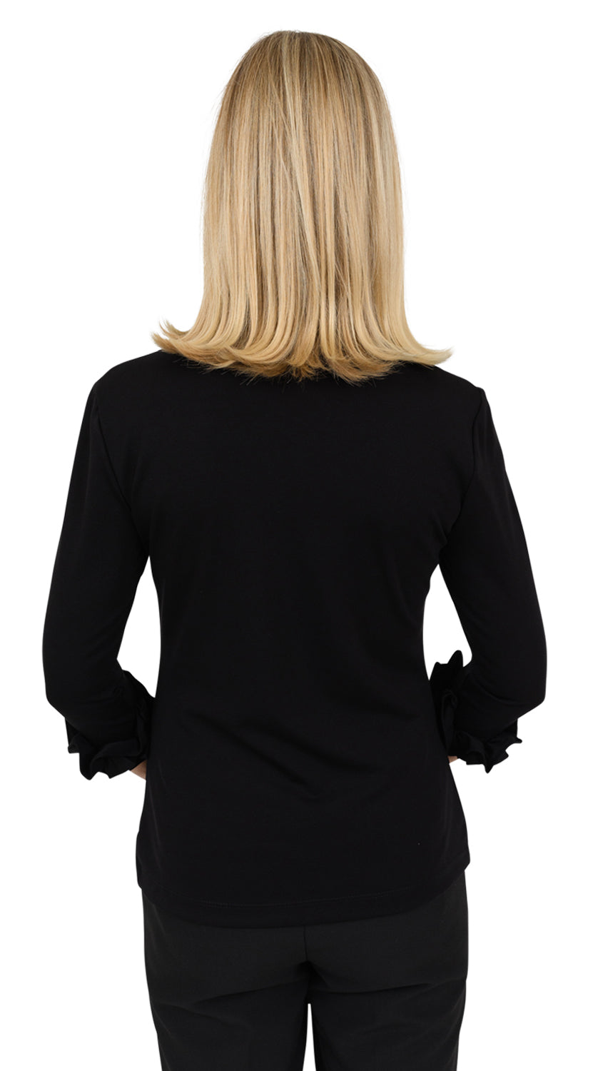 Caroline Top - Solid Black