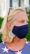 Face Mask - Solid Navy - FINAL SALE