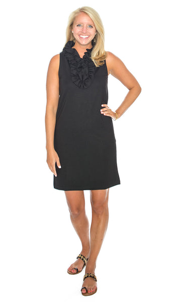 Skipper Dress - Solid Black