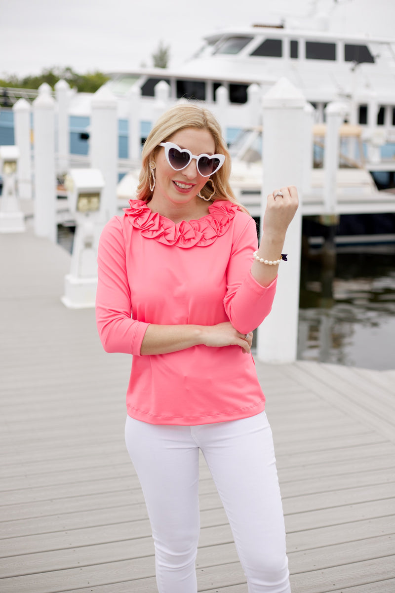 Cricket Top - Neon Pink - FINAL SALE