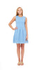 Boardwalk Dress - Blue/White Fish Net