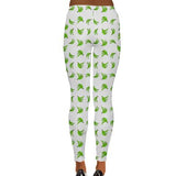 Platano Print High Waist Leggings