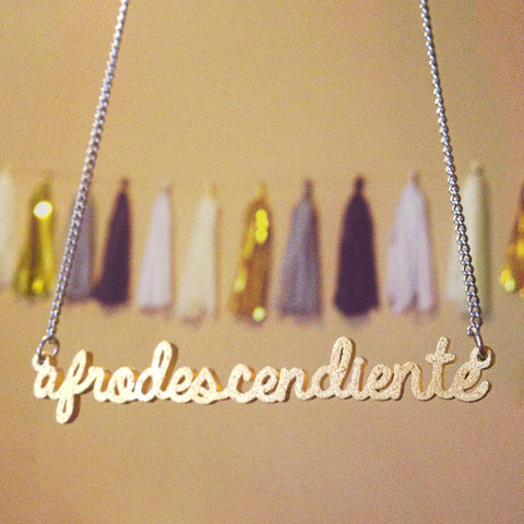 Afrodescendiente Necklace SALE