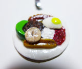 Custom Handcrafted Clay Gourmet Pendant