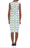 Platano Print Shift Dress