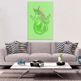 Capricorn canvas