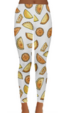 Empanada Print High Waist Leggings