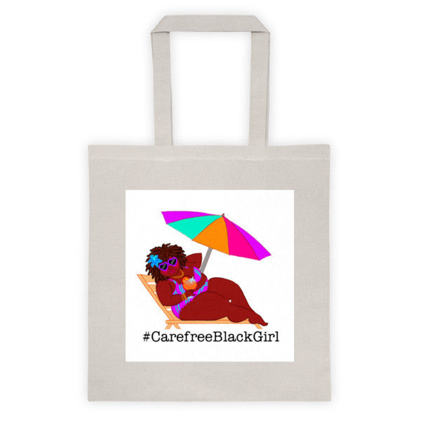 CarefreeBlackGirl Tote bag