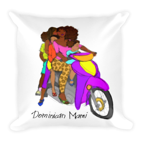 Dominican Mami Pillow