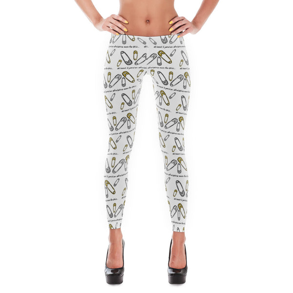 Bullshit Safety Pin Ally Leggings